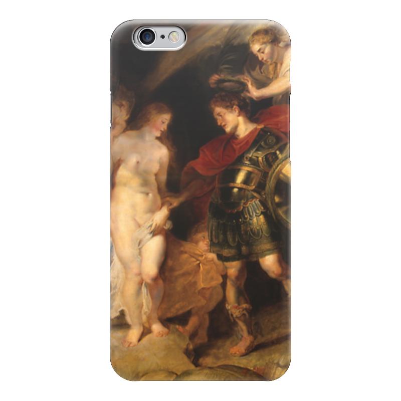 Чехол для iPhone 6 глянцевый Printio Персей и андромеда (рубенс) экран для ванны triton персей торцевой