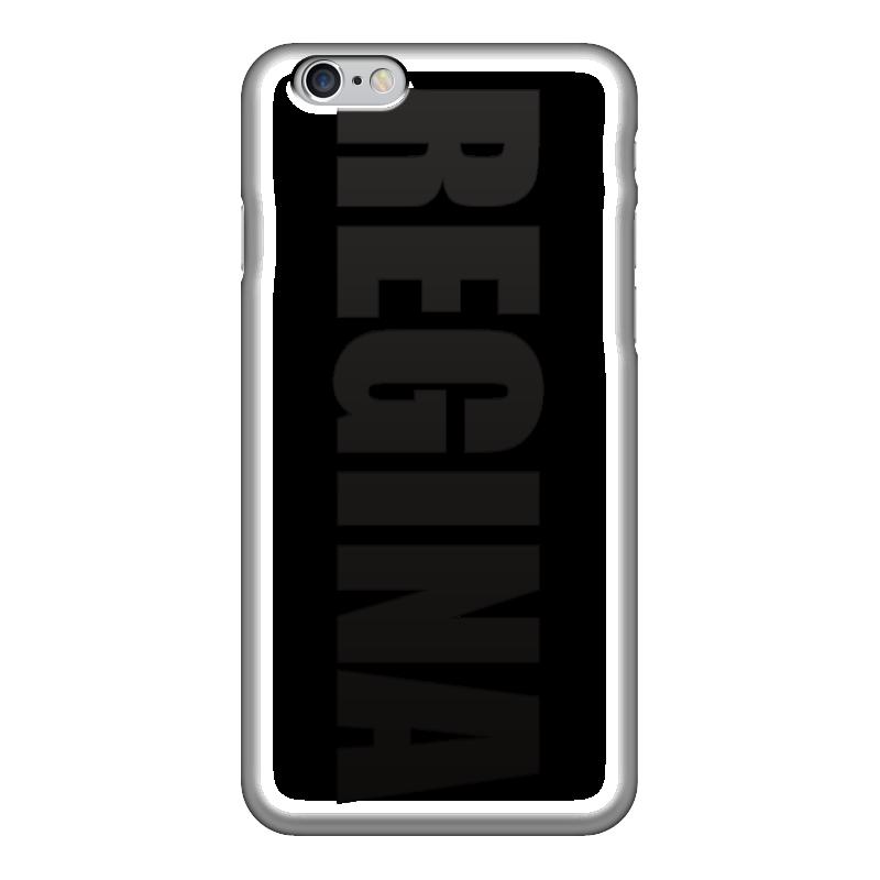 Чехол для iPhone 6 глянцевый Printio С именем регина клетка для птиц ферпласт регина с комплектом белая