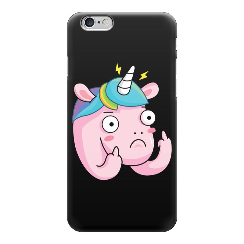 Чехол для iPhone 6 глянцевый Printio Unicorn / единорог чехол для iphone 6 глянцевый printio армянский крест