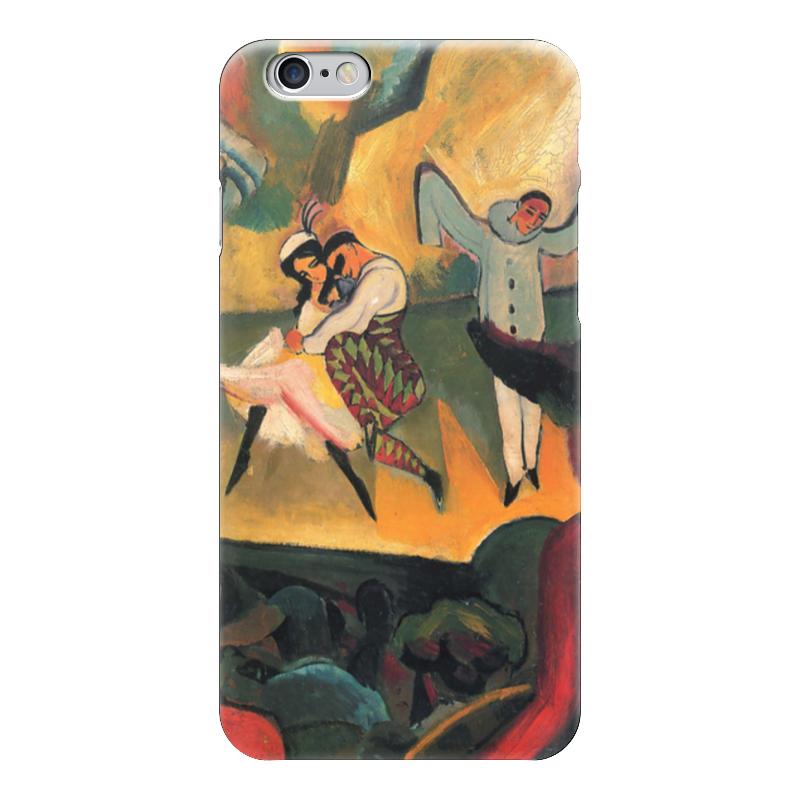 Чехол для iPhone 6 глянцевый Printio Русский балет (август маке) балет щелкунчик