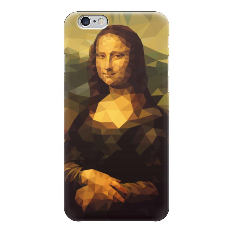 Чехол для iPhone 6 глянцевый Printio Мона лиза (mona lisa) мона лиза евро наволочка 50х70 malta