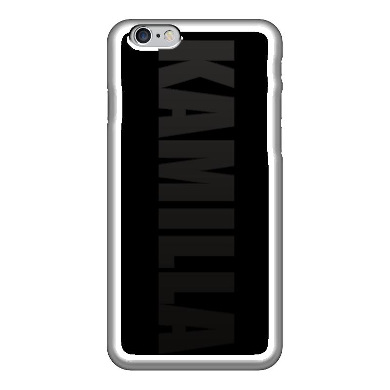 Чехол для iPhone 6 глянцевый Printio С именем камилла чехол для iphone 5 printio с именем анна