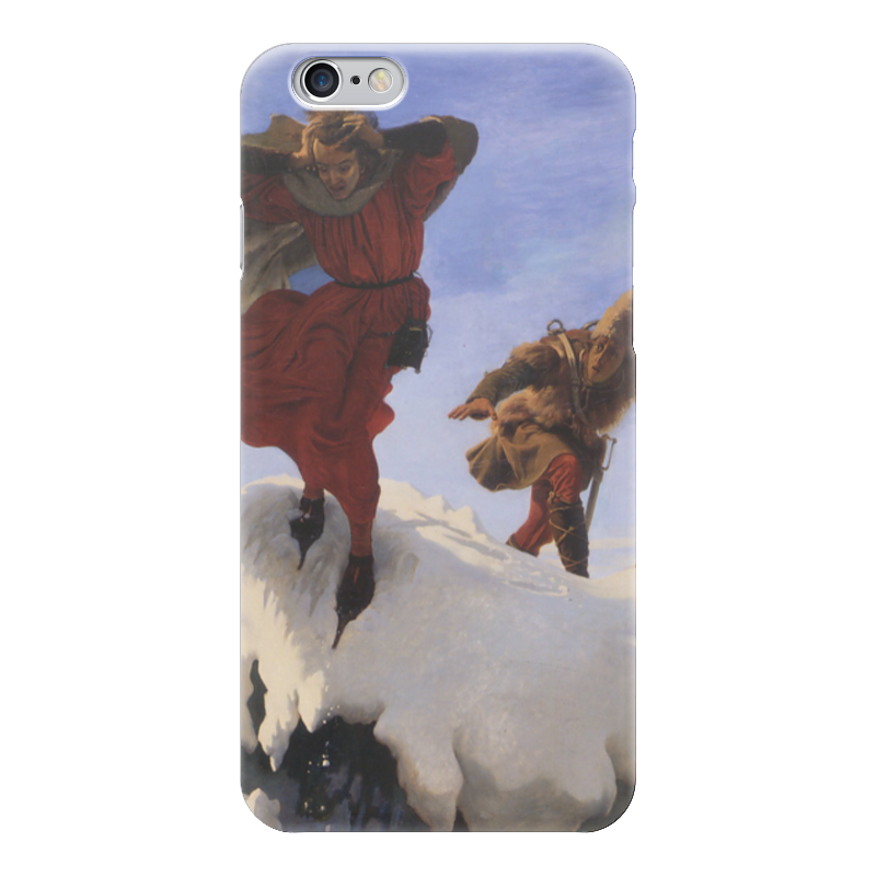 Чехол для iPhone 6 глянцевый Printio Манфред (форд браун) куплю форд мондео б у