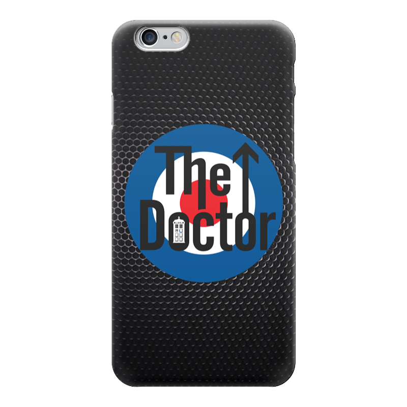 Чехол для iPhone 6 глянцевый Printio Доктор кто (doctor who) чехол для iphone 7 глянцевый printio time lord doctor who
