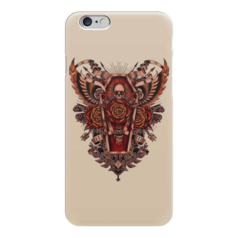 Чехол для iPhone 6 глянцевый Printio Coffin art