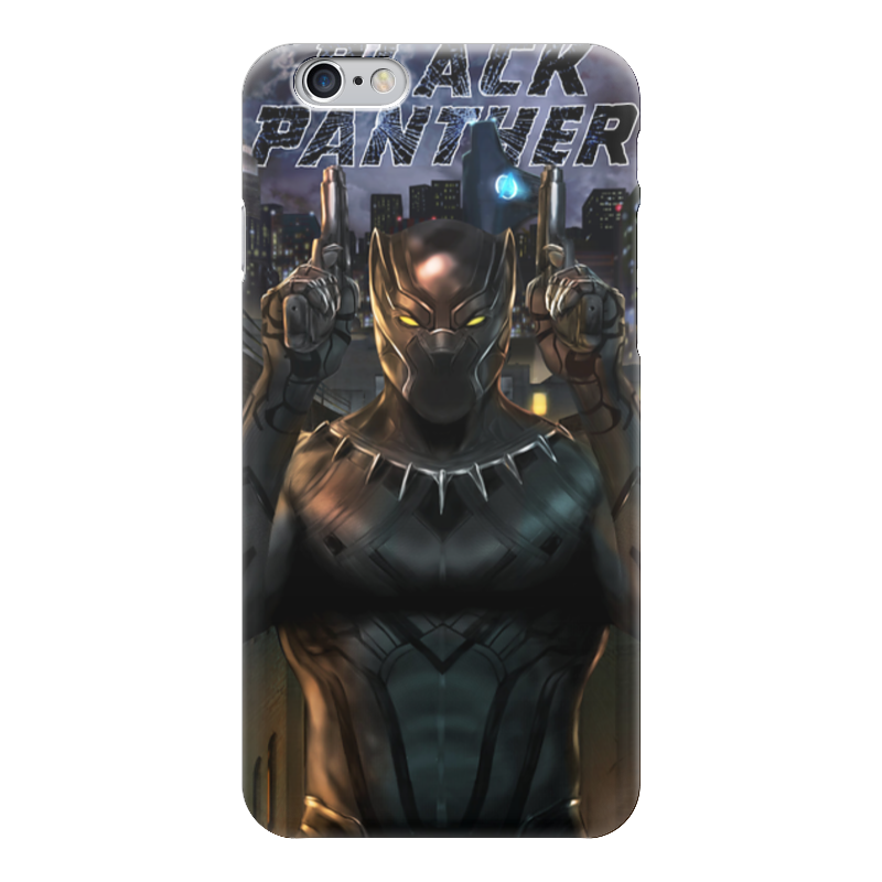 Чехол для iPhone 6 глянцевый Printio Черная пантера сумка printio черная пантера