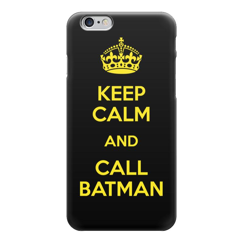 Чехол для iPhone 6 глянцевый Printio Keep calm and call batman sahar cases чехол keep calm and love me iphone 5 5s 5c