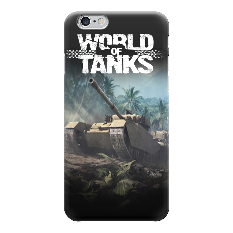 Чехол для iPhone 6 глянцевый Printio World of tanks чехол для iphone 6 глянцевый printio knights of the frozen throne