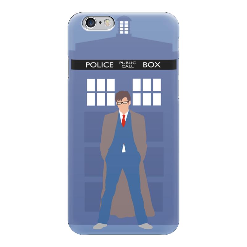 Чехол для iPhone 6 глянцевый Printio Доктор кто и тардис / doctor who & tardis чехол для iphone 7 глянцевый printio time lord doctor who