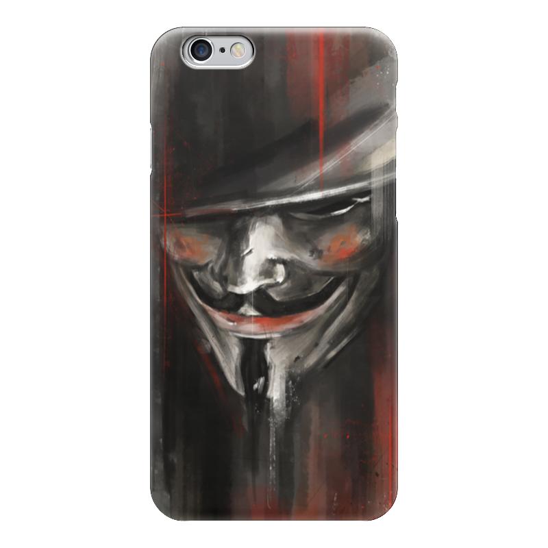 Чехол для iPhone 6 глянцевый Printio V for vendetta b screen b156xw02 v 2 v 0 v 3 v 6 fit b156xtn02 claa156wb11a n156b6 l04 n156b6 l0b bt156gw01 n156bge l21 lp156wh4 tla1 tlc1 b1