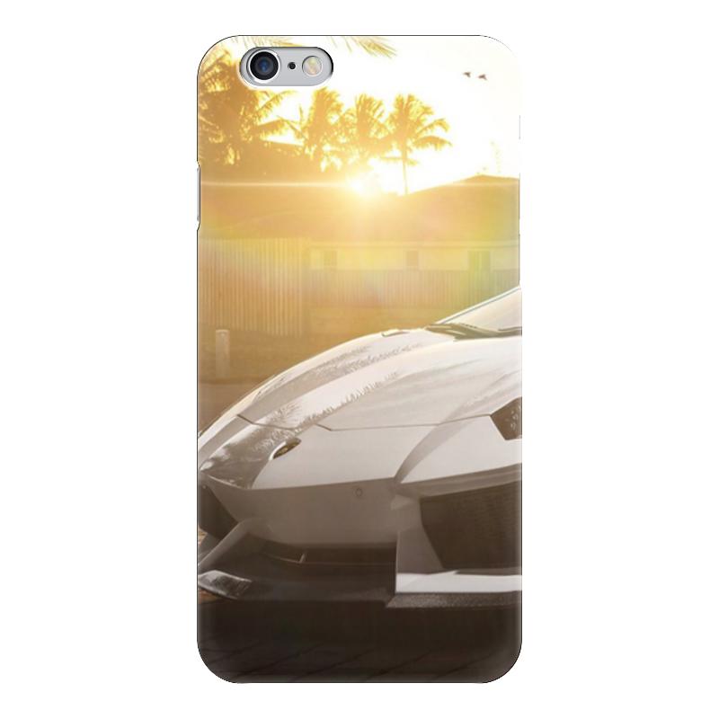Чехол для iPhone 6 глянцевый Printio Lamborghini