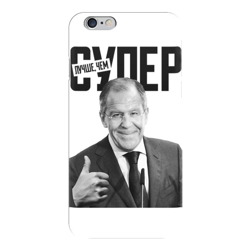 Чехол для iPhone 6 глянцевый Printio Лучше, чем супер какой iphone лучше для россии