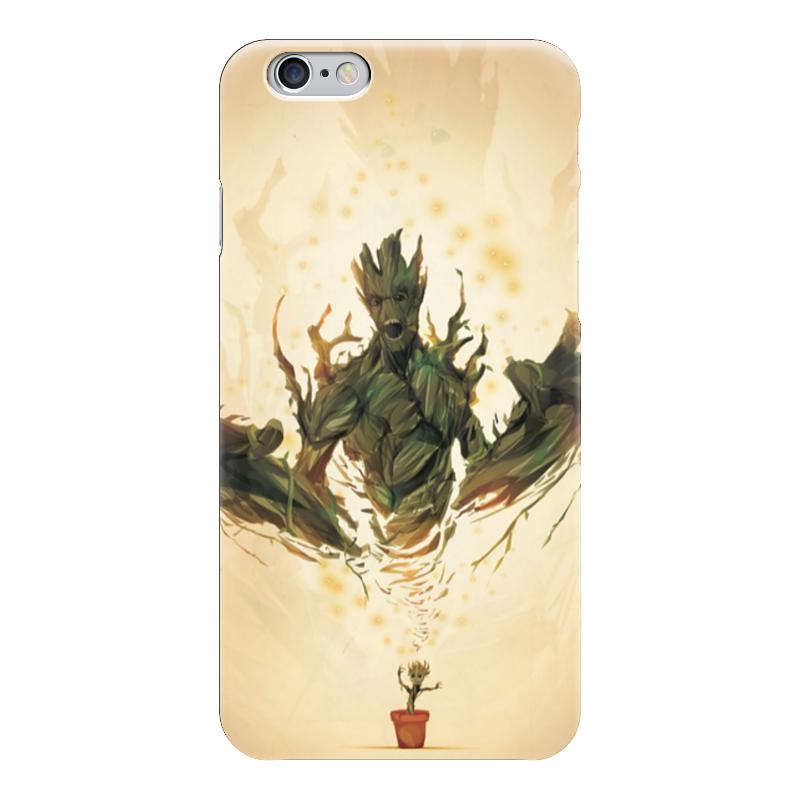 Чехол для iPhone 6 глянцевый Printio Стражи галактики