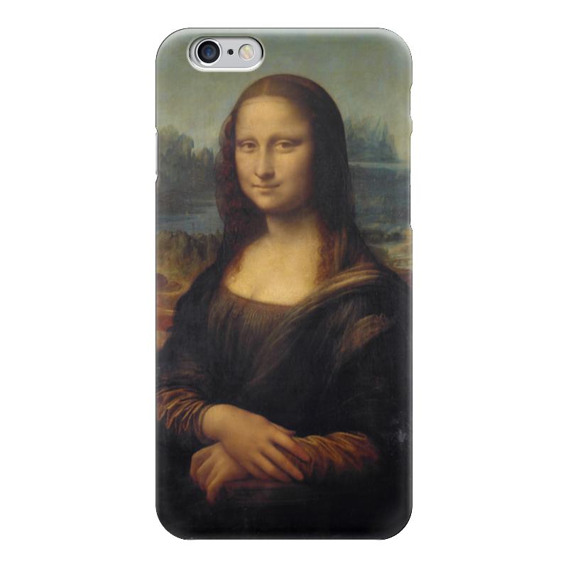 Чехол для iPhone 6 глянцевый Printio Мона лиза мона лиза евро наволочка 50х70 malta