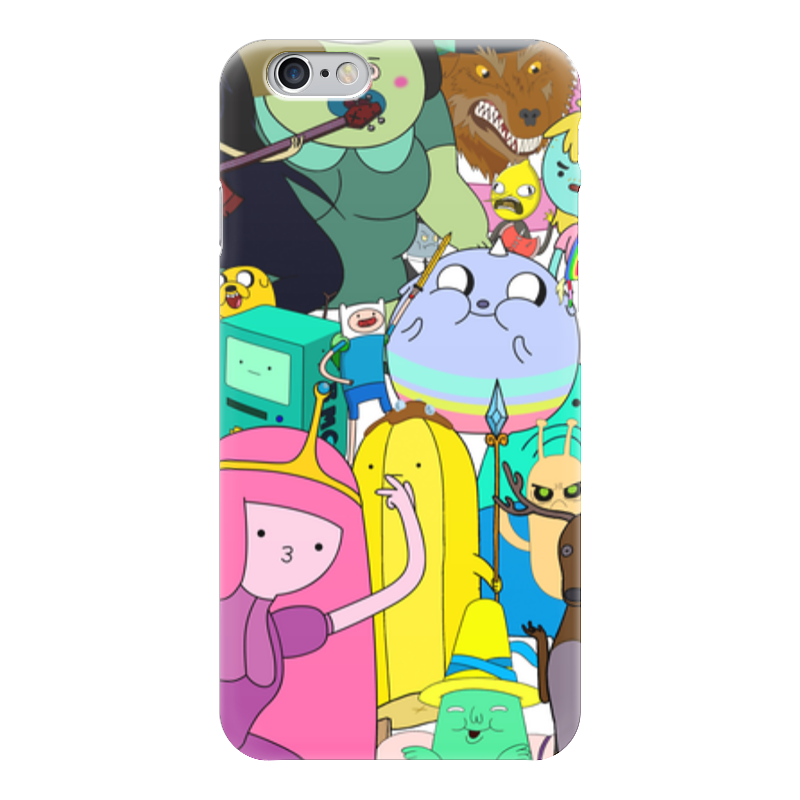 Чехол для iPhone 6 глянцевый Printio Adventure time чехол для iphone 6 глянцевый printio adventure time finn and jake