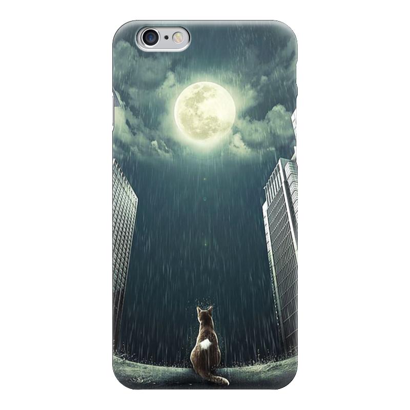 Чехол для iPhone 6 глянцевый Printio Кот в каменных джунглях чехол для iphone 6 глянцевый printio кот бу