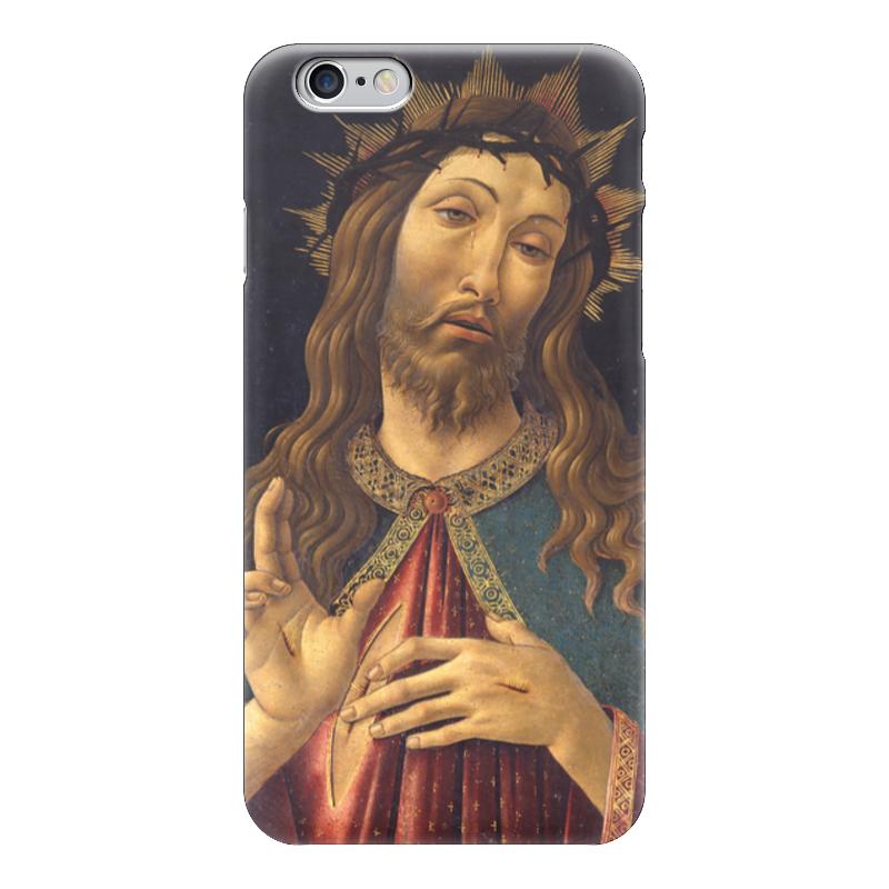 Чехол для iPhone 6 глянцевый Printio Христос в терновом венце (боттичелли) вышивка бисером молящийся христос