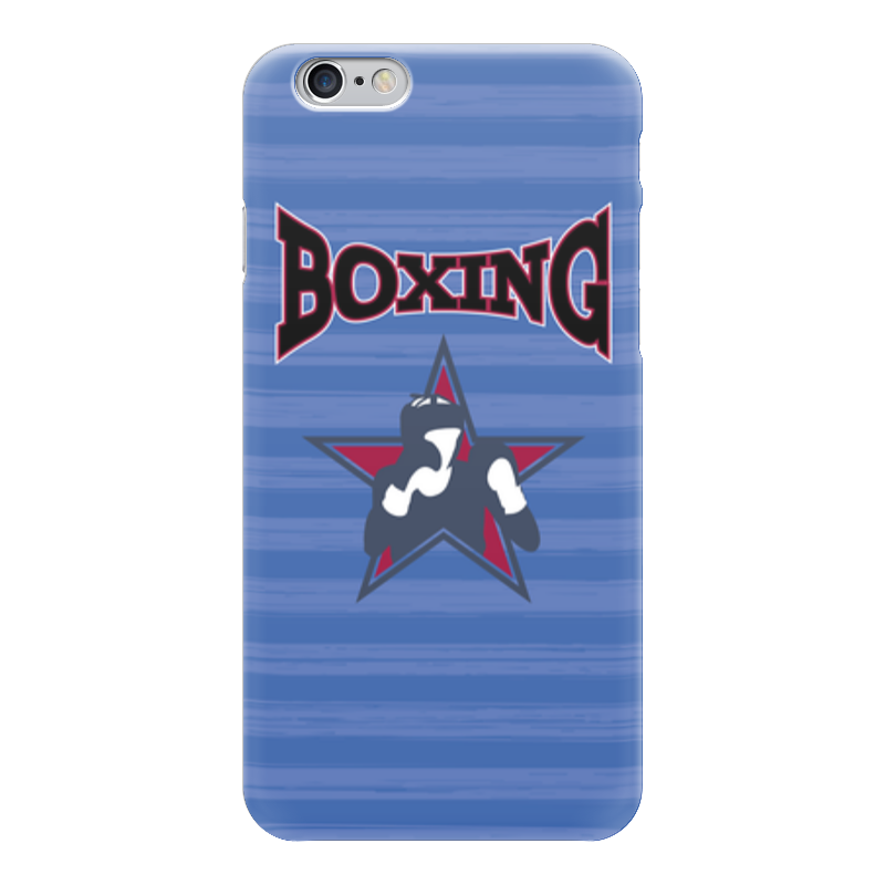Чехол для iPhone 6 глянцевый Printio Боксер б у пежо боксер