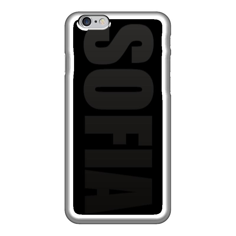 Чехол для iPhone 6 глянцевый Printio С именем софия чехол для iphone 5 printio с именем лариса