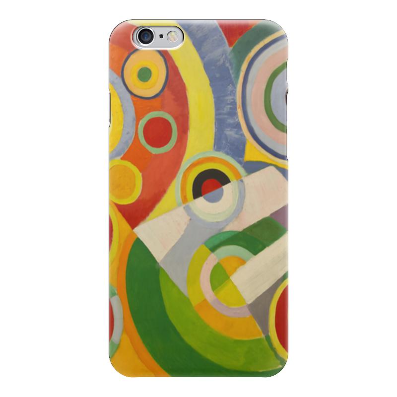 Чехол для iPhone 6 глянцевый Printio Абстракционизм (картина делоне) н б делоне квантовая природа вещества