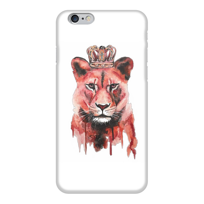 Чехол для iPhone 6 глянцевый Printio Красный тигр бальзам тигр красный в магазине в москве