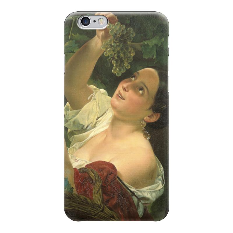 Чехол для iPhone 6 глянцевый Printio Итальянский полдень (картина карла брюллова) чехол для iphone 6 глянцевый printio молодая женщина в соломенной шляпе