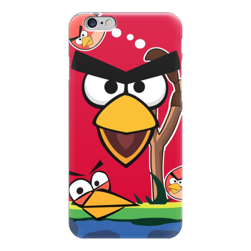 купить Чехол для iPhone 6 глянцевый Printio Angry birds 2 по цене 999 рублей