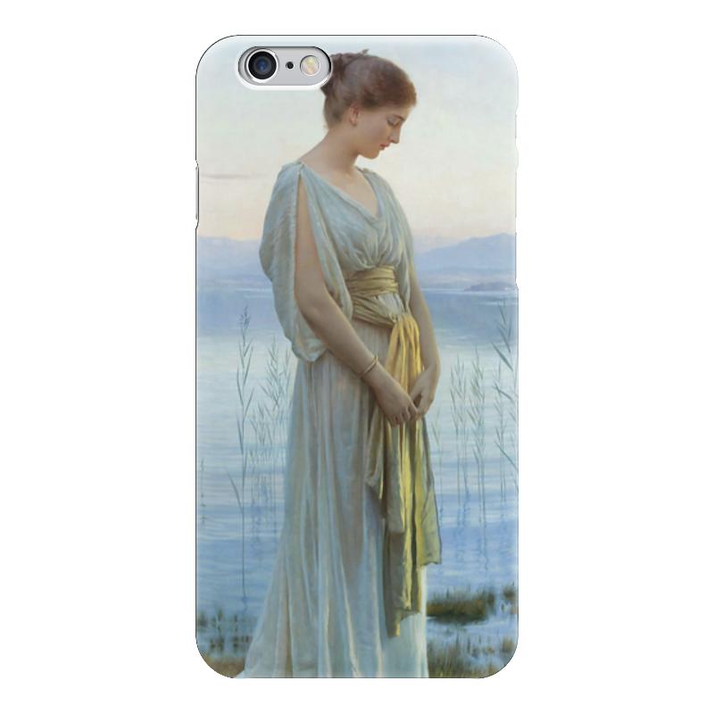 Чехол для iPhone 6 глянцевый Printio Вечер у озера (evening by the lake) тихвин коттедж у озера