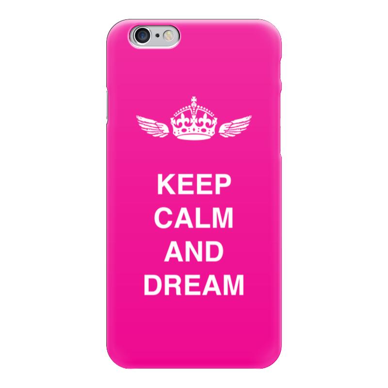 Чехол для iPhone 6 глянцевый Printio Keep calm and dream чехол для iphone 6 глянцевый printio sweet dream
