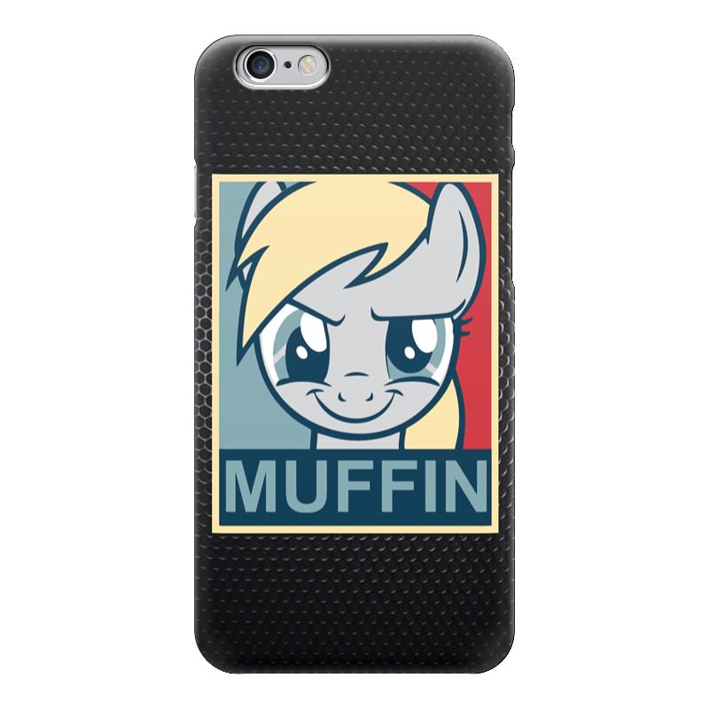 Чехол для iPhone 6 глянцевый Printio Muffin (оладушки) стоимость