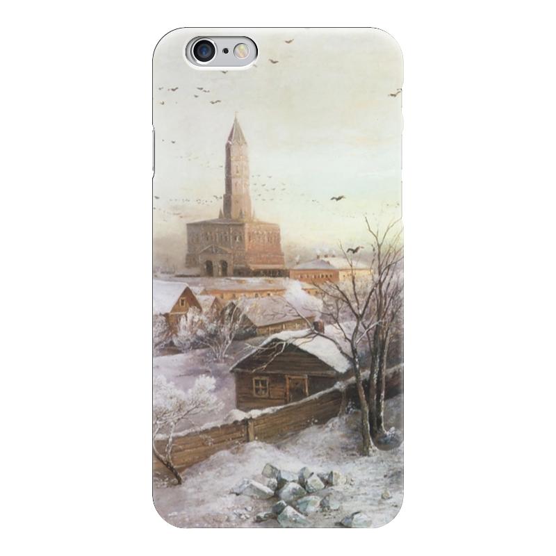 Чехол для iPhone 6 глянцевый Printio Сухарева башня цена