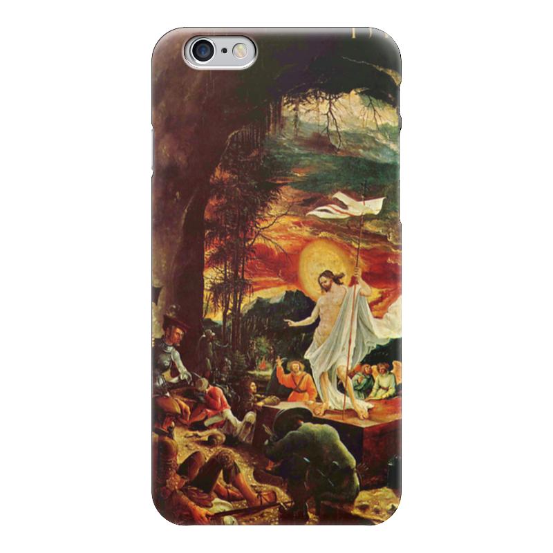 Чехол для iPhone 6 глянцевый Printio Воскресение иисуса христа (альбрехт альтдорфер) воскресение бога воплощенного
