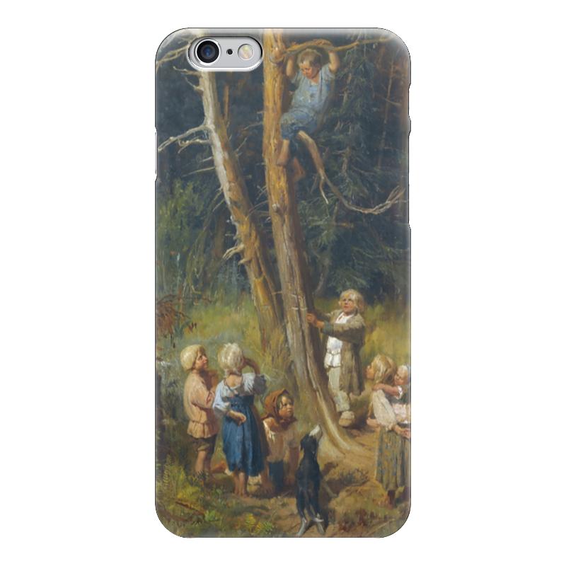 Чехол для iPhone 6 глянцевый Printio Дети разоряют гнёзда в лесу виктор васнецов минувших дней печаль и радость набор репродукций