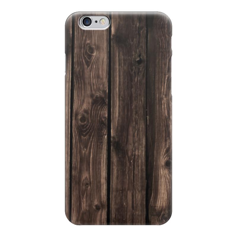 Чехол для iPhone 6 глянцевый Printio Забор столбы на забор купить в иркутске