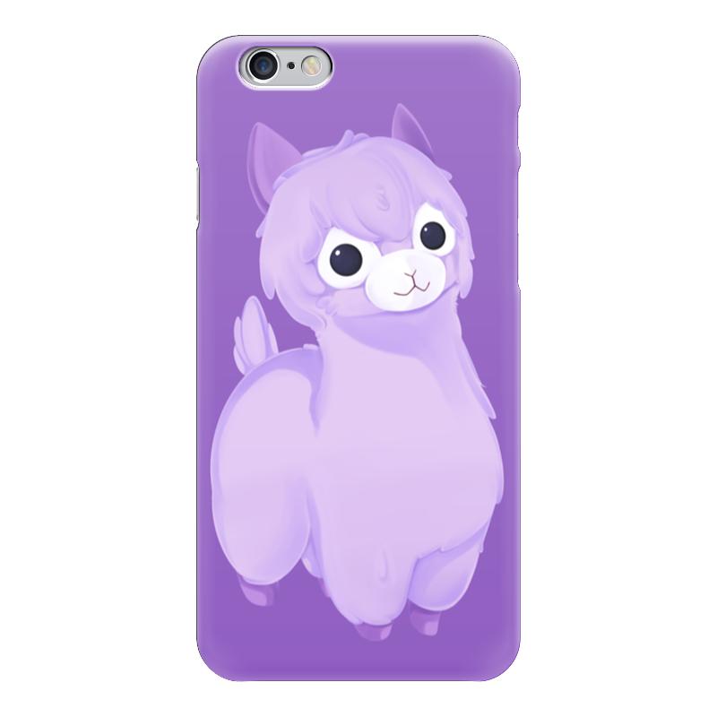 Чехол для iPhone 6 глянцевый Printio Alpaca / альпака чехол для iphone 6 глянцевый printio армянский крест