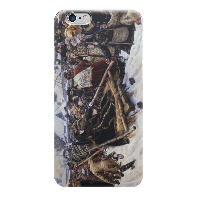 Чехол для iPhone 6 глянцевый Printio Боярыня морозова (картина в. и. сурикова)