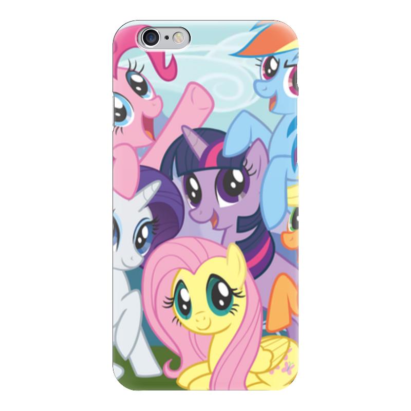 Чехол для iPhone 6 глянцевый Printio My little pony