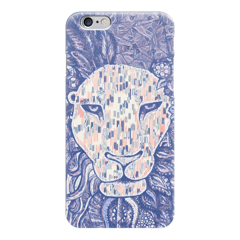 Чехол для iPhone 6 глянцевый Printio Jungle аксессуар чехол stone age jungle collection wood skin для iphone 6 plus кожа brown w8582