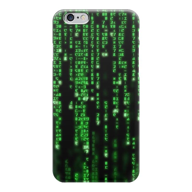 Чехол для iPhone 6 глянцевый Printio Матрица