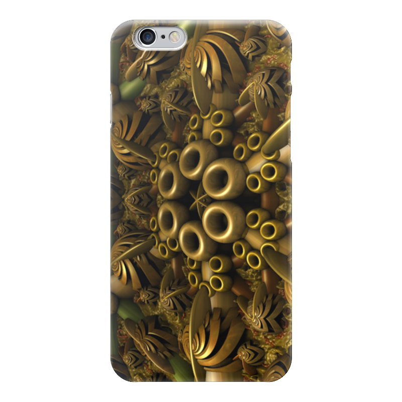 Чехол для iPhone 6 глянцевый Printio Фрактал
