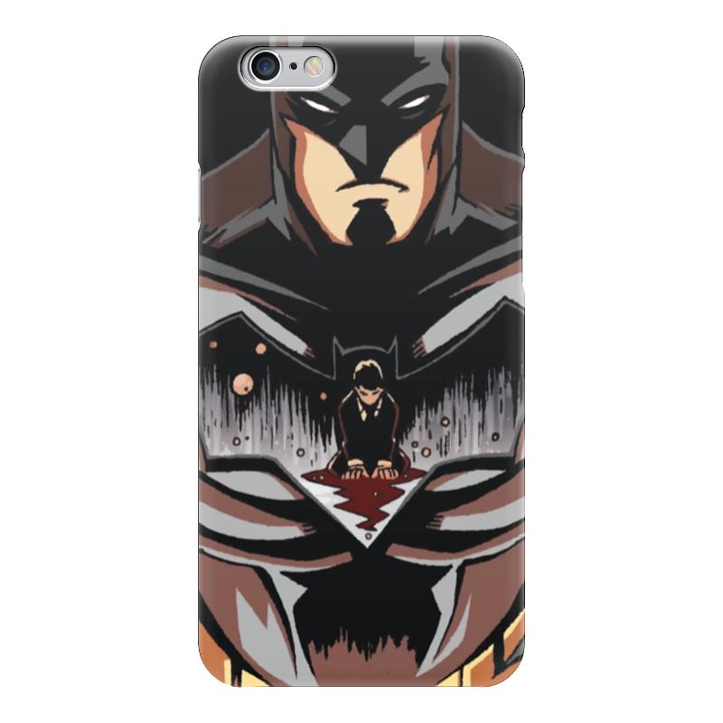 Чехол для iPhone 6 глянцевый Printio Batman / бэтмен чехол для iphone 6 глянцевый printio бабушкин сад