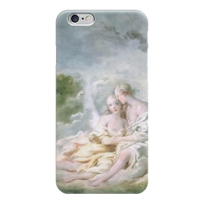 Чехол для iPhone 6 глянцевый Printio Юпитер и каллисто смеситель kaiser carlson 11077