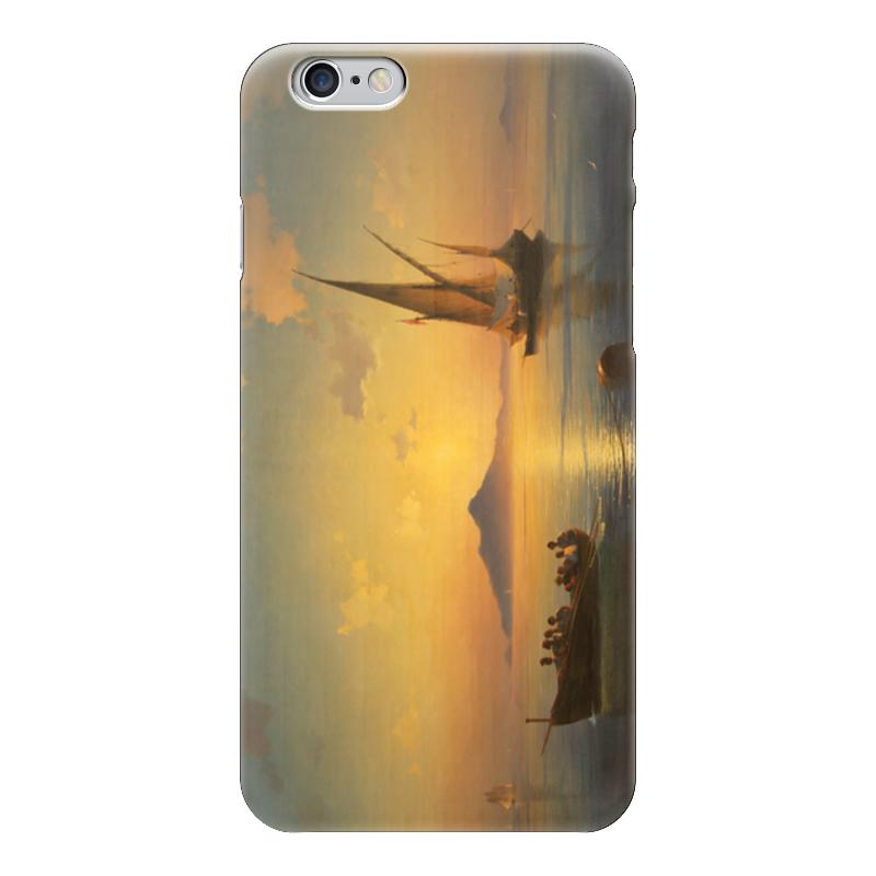 Чехол для iPhone 6 глянцевый Printio Неаполитанский залив настенные часы русский меценат рм 779