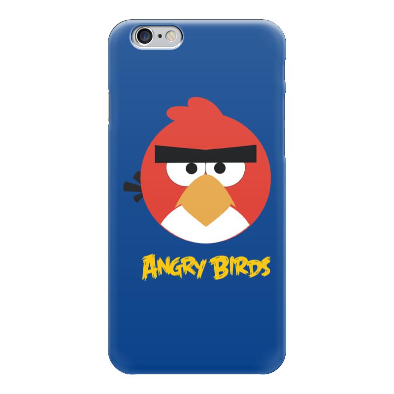 Чехол для iPhone 6 глянцевый Printio Angry birds
