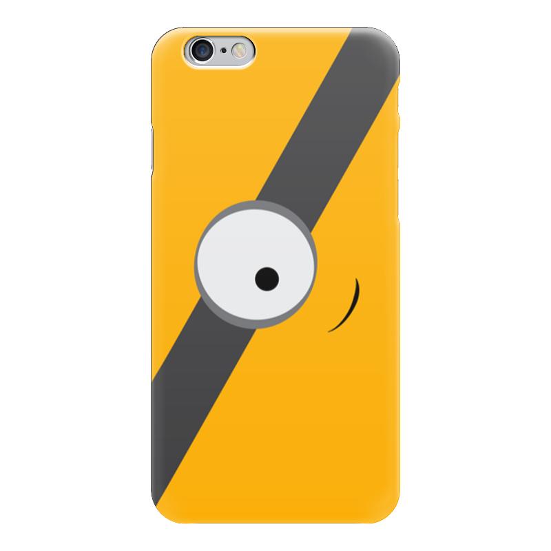 Чехол для iPhone 6 глянцевый Printio Миньон (minion) чехол для iphone 6 глянцевый printio миньон с бананом гадкий я