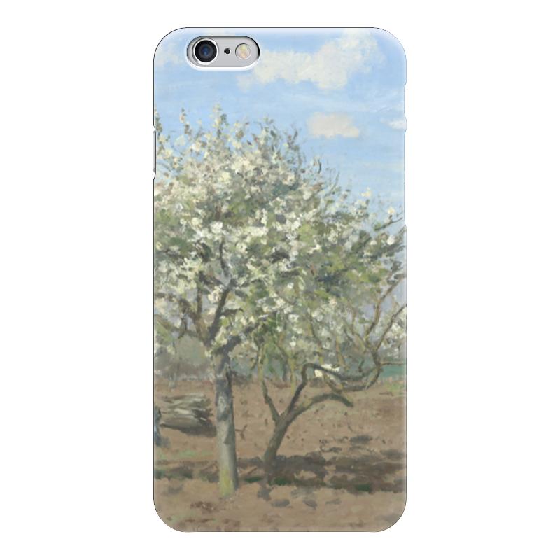 Чехол для iPhone 6 глянцевый Printio Фруктовый сад в цвету чехол для iphone 4 глянцевый с полной запечаткой printio фруктовый сад в цвету
