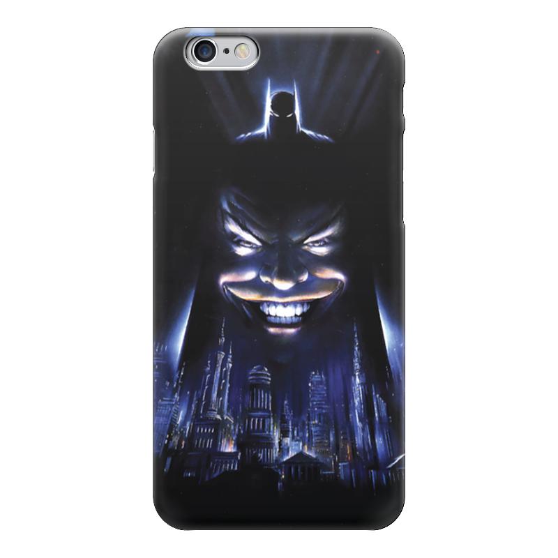 Чехол для iPhone 6 глянцевый Printio Batman/бэтмен чехол для iphone 4 глянцевый с полной запечаткой printio бэтмен