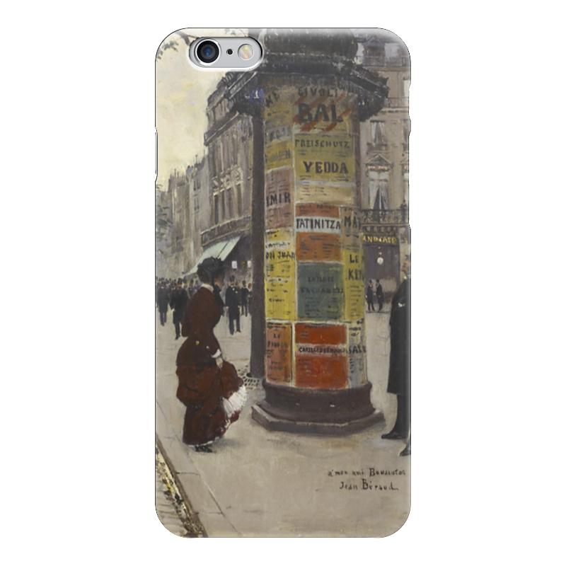 Чехол для iPhone 6 глянцевый Printio Парижский киоск (жан беро) салонный фильтр мазда демио dy3w