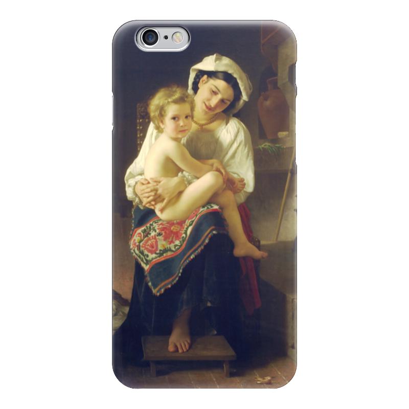 Чехол для iPhone 6 глянцевый Printio Молодая мать любуется своим ребенком чехол для iphone 6 глянцевый printio молодая женщина в соломенной шляпе