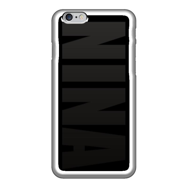Чехол для iPhone 6 глянцевый Printio С именем нина чехол для iphone 6 глянцевый printio сад на улице корто сад на монмартре ренуар